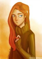 Ginny Weasley by illustrationrookie
