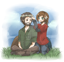 Joel and Ellie by erichankun