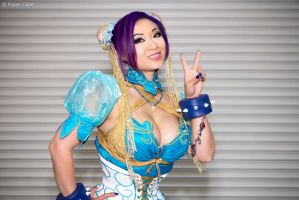 Chun Li - Street Fighter by Paper-Cube