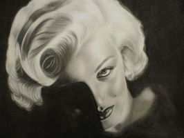 Marilyn Monroe - 2 by Mariannaeva