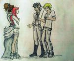 The Herondales and their girls by mademoisellemaripol