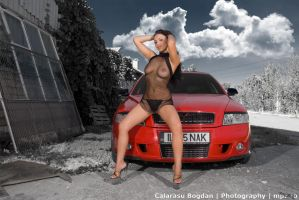 Skoda Octavia RS and Mary by HDRenesys
