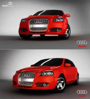 Audi A3 by skyrill