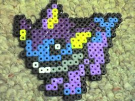 Vaporeon Pokemon by Ravenfox-Beadsprites