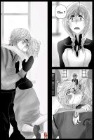 Frozen: Does Anna Know? (Kristelsa Short Comic) by LilFloralGirl