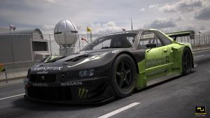 Nissan Skyline GTR Monster racing 2 by RJamp