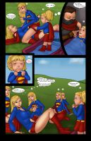 Supergirls and Mr Ninja pg 17 by LexiKimble