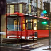 Red bus ... revisited by dajono