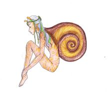 Snail Girl by Torenchiko-to