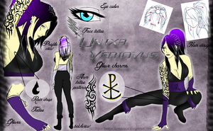 Unixa Vedivous - Bleach OC by KentuckyRedneck