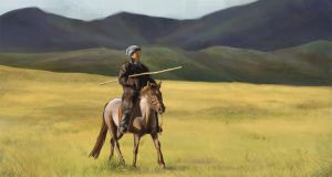 Steppe rider by Adriaan224