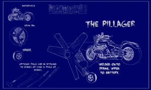 Dead Rising 3 - The Pillager Blue Print by GainesHall