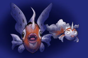 The Goldeen Family by Zerochan923600
