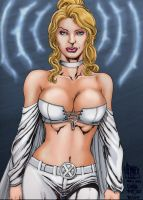 Emma_frost. by Troianocomics