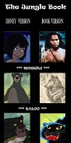 Jungle Book Comparison by devilkais