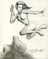 Action Girl by S0lrac