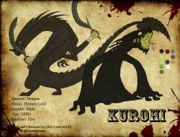 Kurohi Character Sheet by Coco-Art-92