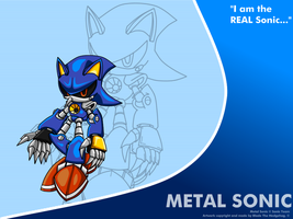 Metal Sonic - BG by SRB2-Blade