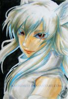White Wolf by natsumi33