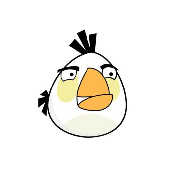 Angry Bird - White Bird by life-as-a-coder
