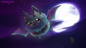 I am the night! [ collab gift ] by Aunty-chick