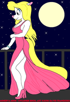 Minerva's Pink Gown II by tpirman1982