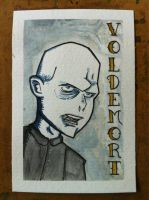 Voldemort in watercolor by JesseAcosta
