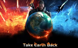 Mass Effect Wallpaper Take Earth Back by SKstalker