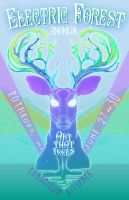 Electric Forest Celestial Deer by TakeAnother-Look
