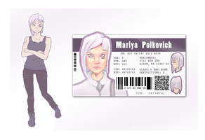 OC: Mariya Reference by AlbinoBadger