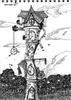 The Clock Tower by Porn-2-Be-A-Life