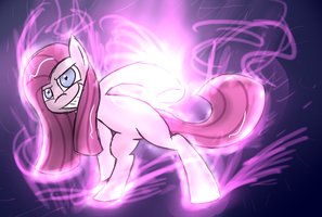 Hot Blooded Pinkamena by TheAllyGLaDOS