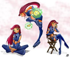 Starfire redux. by DonWily-ROBOTNIK