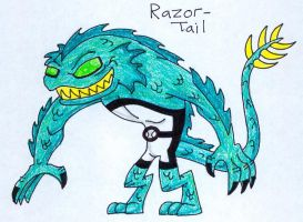 22 Razor-Tail by JakRabbit96