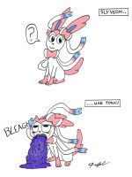 Sylveon Used Toxic by Cartoon-Eric