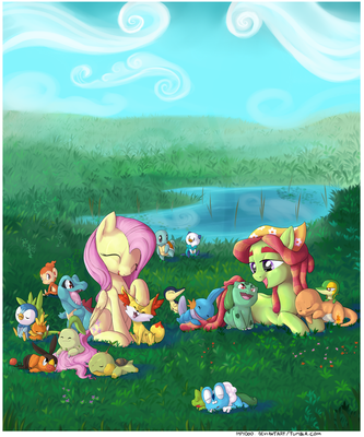 I meet a lot of different creatures by ImpyDoo