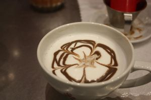 Flowery Latte by MochaCat