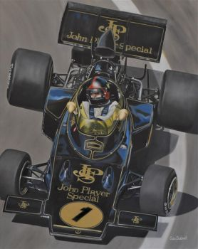 Emerson Fittipaldi (JPS) by huckerback6
