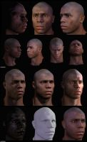 Male character in Unreal 3 by Kenhennen