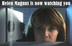 Helen Magnus is watching you by mszivadavid