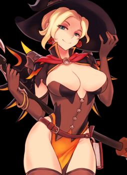 Witch Mercy by Sieyarelow