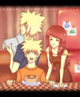 Breakfast With The Uzumakis by naochiko-feature-acc