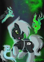Danny Ghost Pony by HalloDream