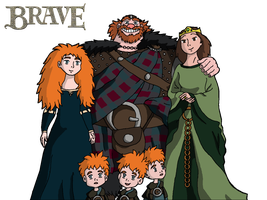 Brave (if Studio Ghibli made it) by AndyPritchard