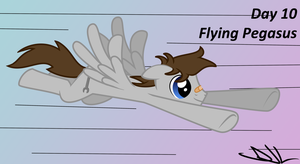 Bootcamp Day 10: Flying Pegasus by Sintakhra