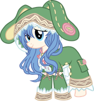 Yoshi-chan(Date A Live Inspired OC) by PrincessMistyMire