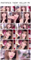[210914] PHOTOPACK TAENY HOLLER MV - Caps by me by bss-sone