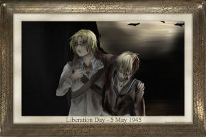 Liberation Day - 5 May 1945 by Kiyouya