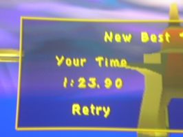 Spyro the Dragon 2 Metro Speedway time score by PlatinumDrawings