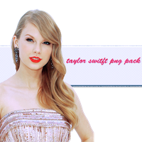 Taylor Swift Png Pack by crucioimpedimenta